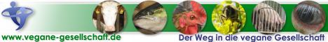Vegane Gesellschaft Banner